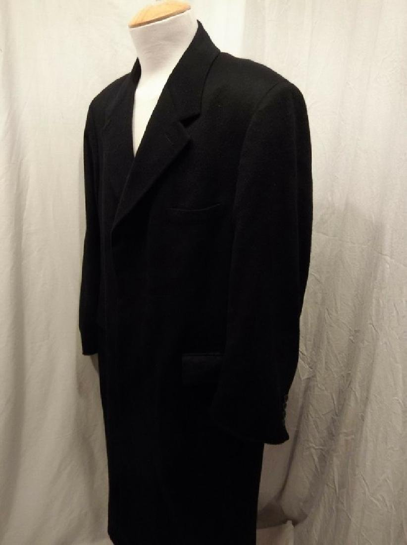 Men's 1998 Brooks Brothers 100% Cashmere Over Coat, - 5