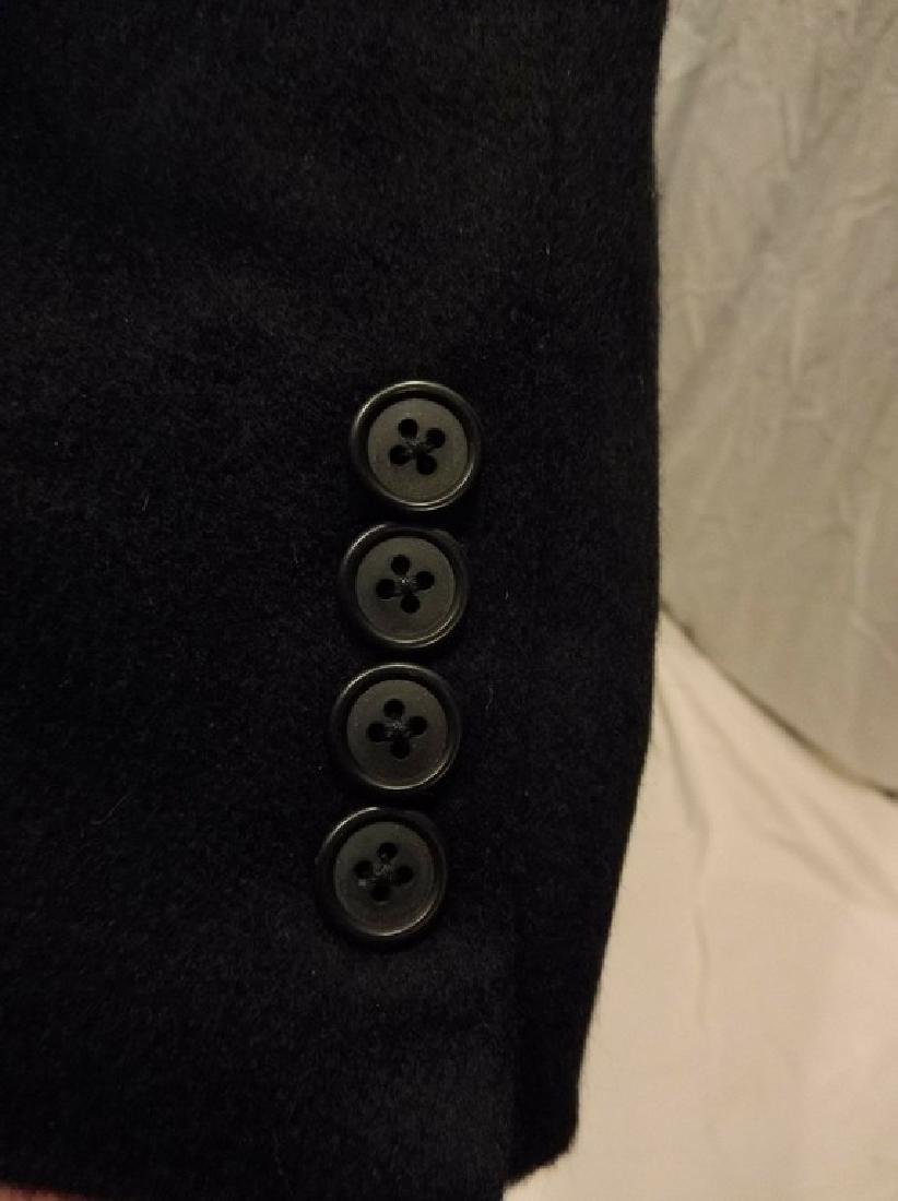 Men's 1998 Brooks Brothers 100% Cashmere Over Coat, - 7