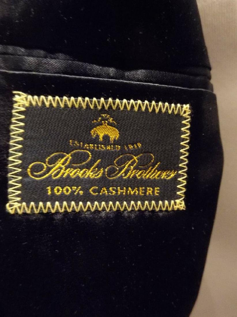 Men's 1998 Brooks Brothers 100% Cashmere Over Coat, - 8