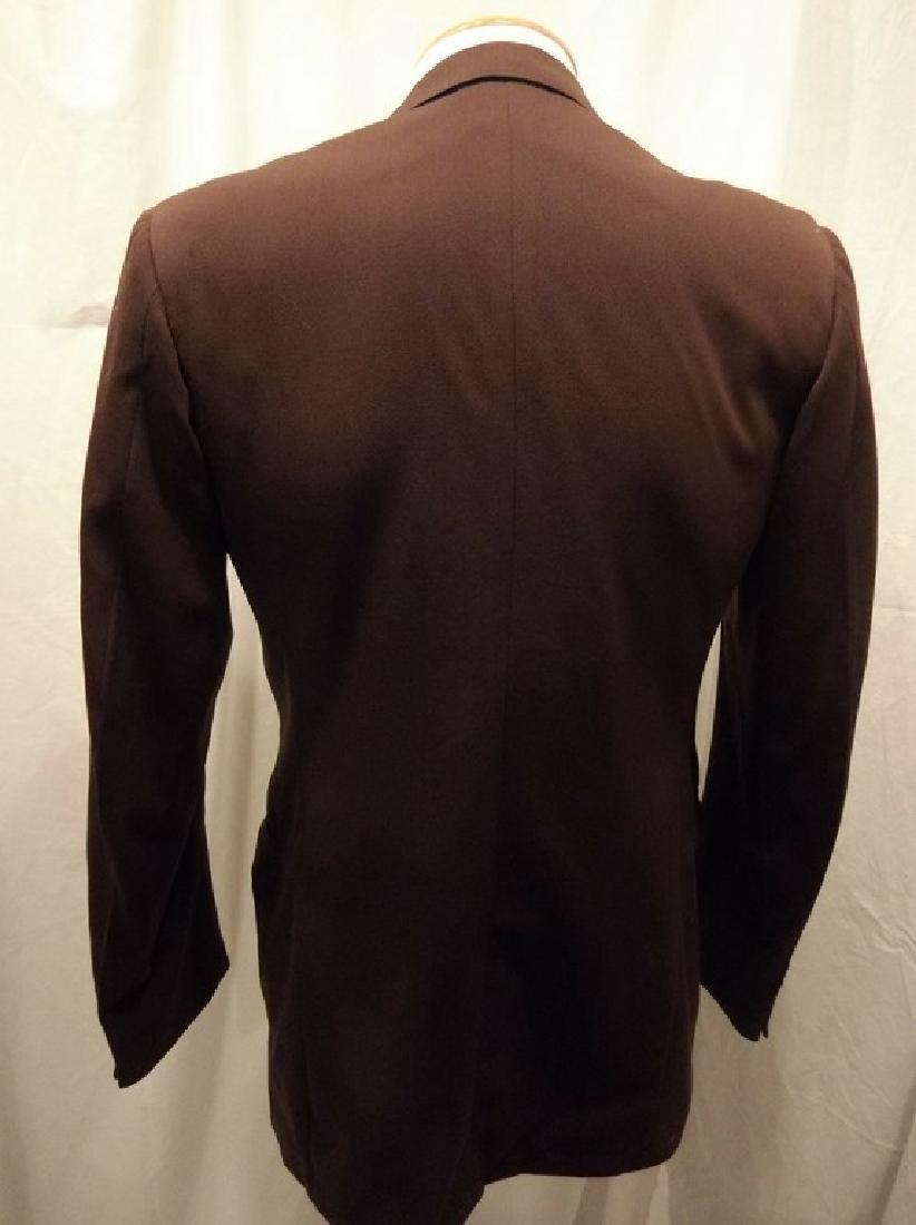 Men's Vintage 1940's Gabardine Suit Coat, double - 5