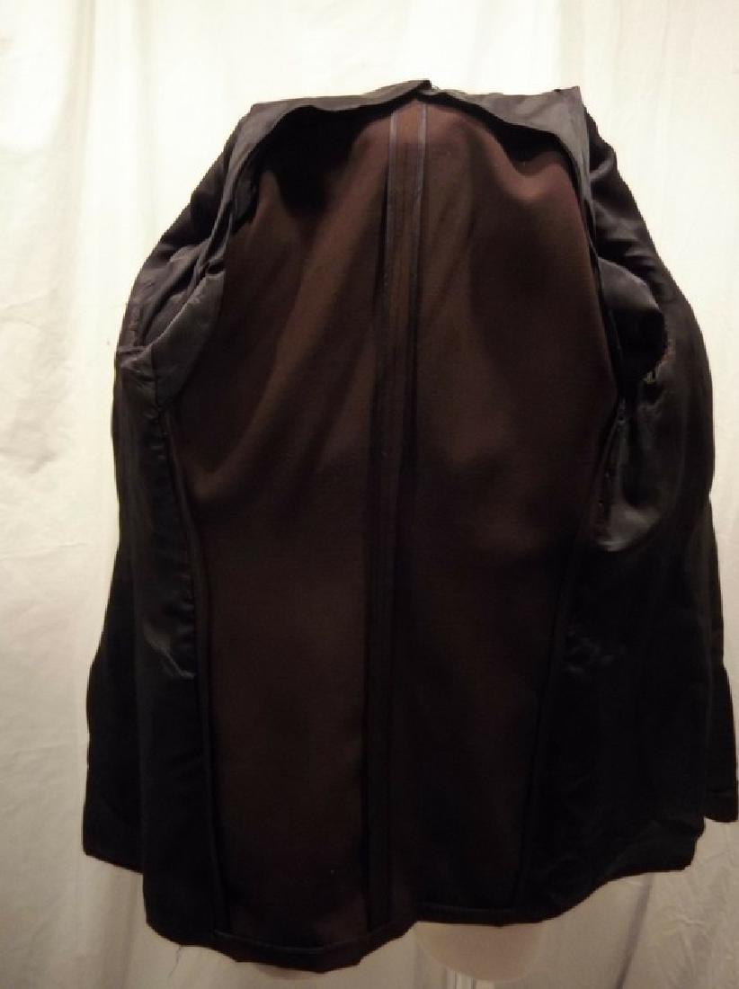 Men's Vintage 1940's Gabardine Suit Coat, double - 7