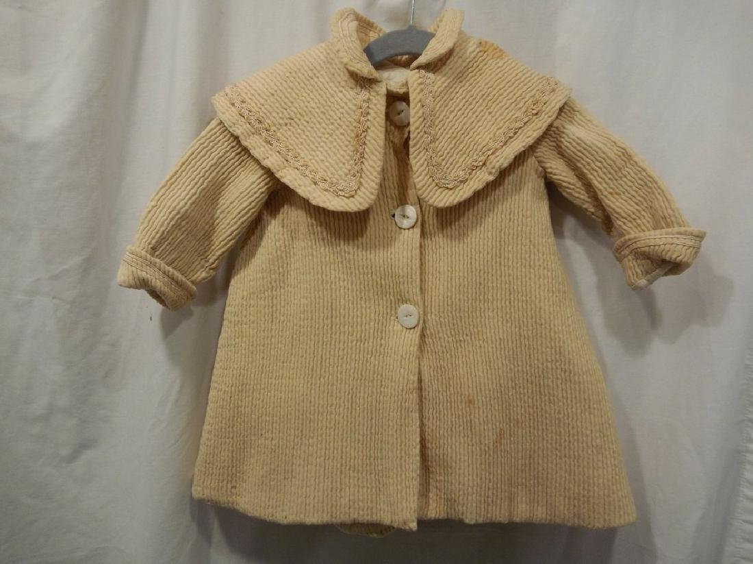 Little Girls Victorian Jacket with Shawl Collar