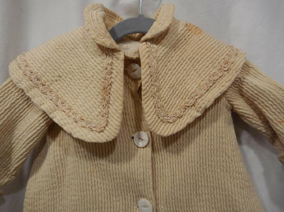 Little Girls Victorian Jacket with Shawl Collar - 2