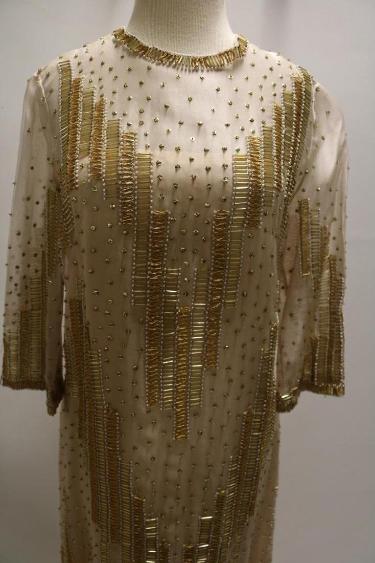 Vintage Dynasty Beaded & Sequin Gown/Maxi Dress, all - 2
