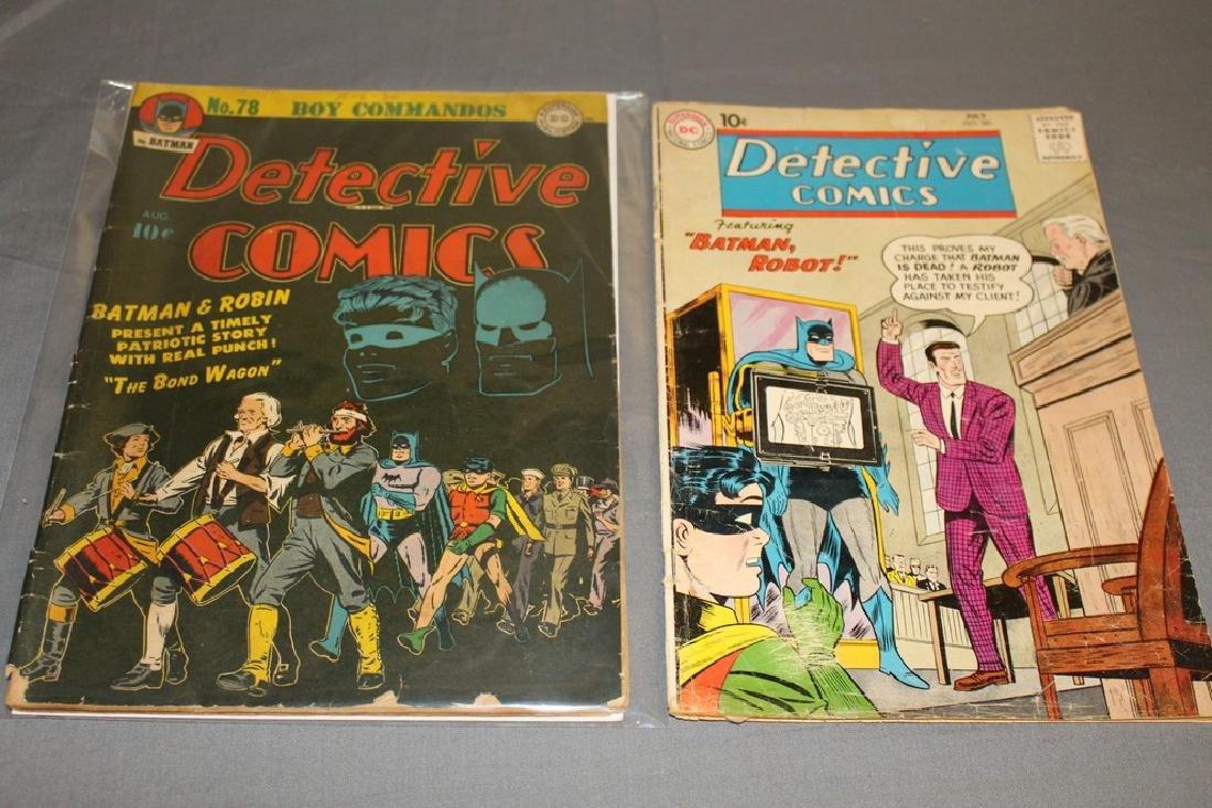 Detective comics #78 & 281 Batman