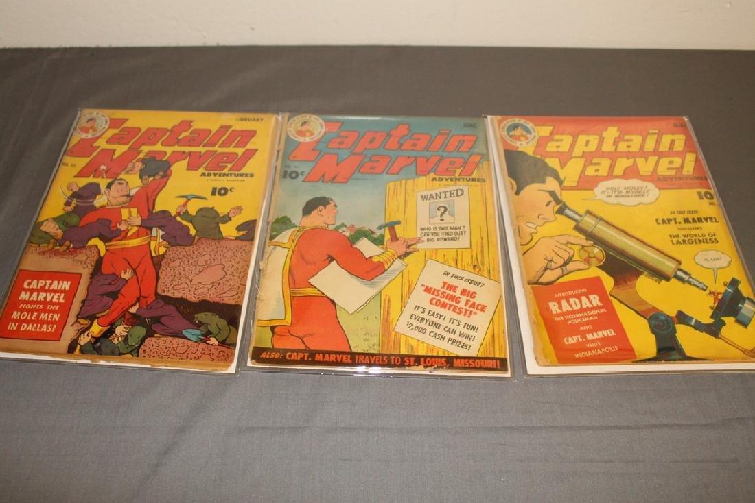 Captain Marvel 1940's #32,36,35