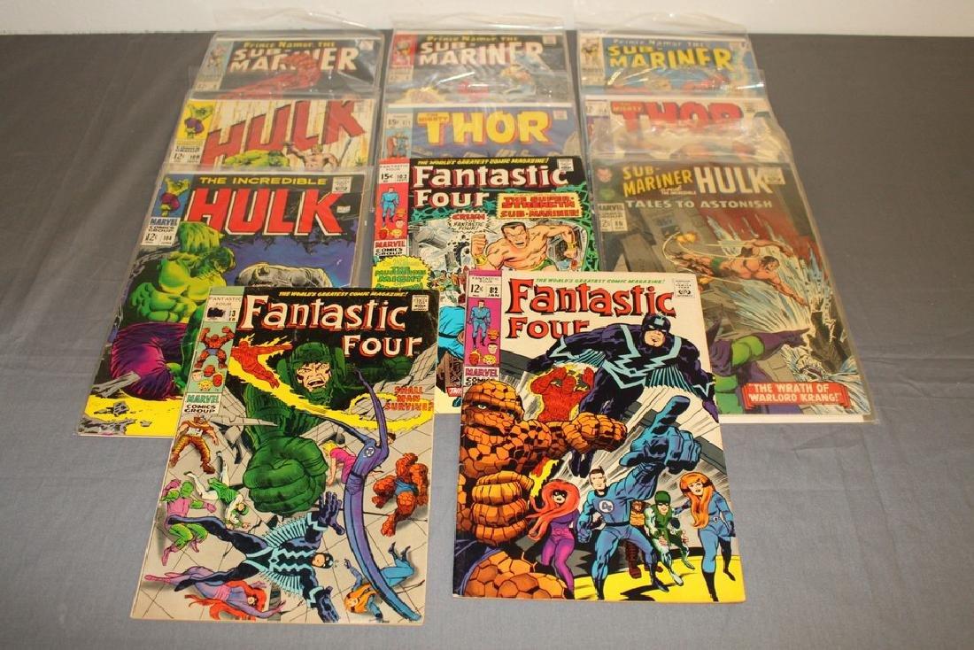 Silverage Marvel Superhero lot of 11 comics