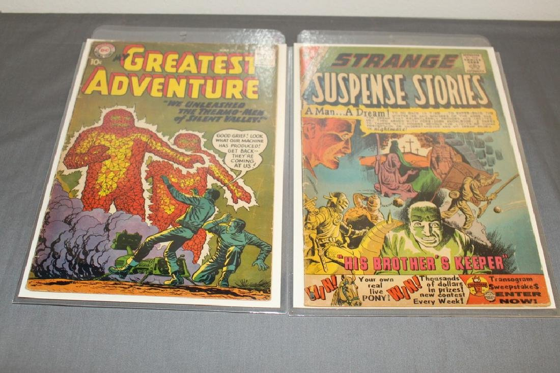 2 awesome 1950's-60's Sci Fi comics