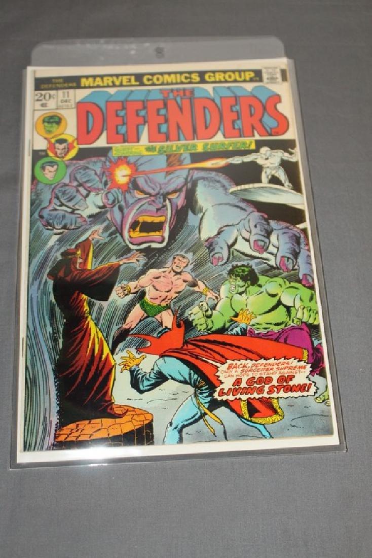 "Marvel comics the ""Defenders"" #11"