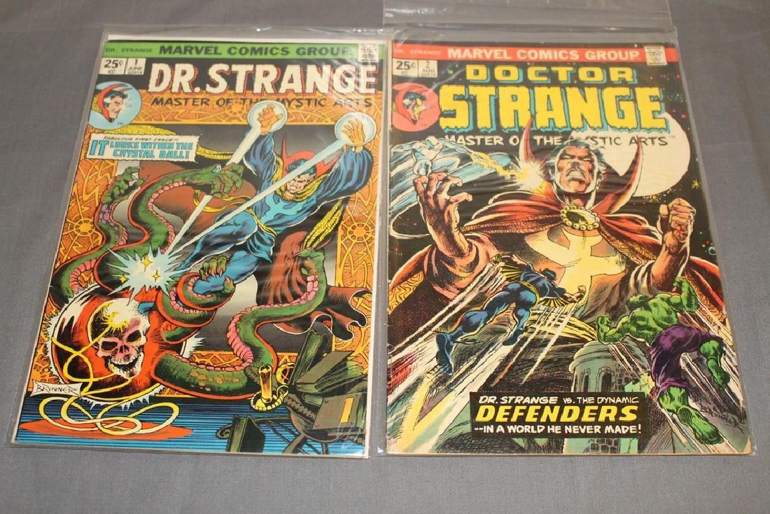 Lot of 2 Dr. Strange #1, #2 Brunner Art