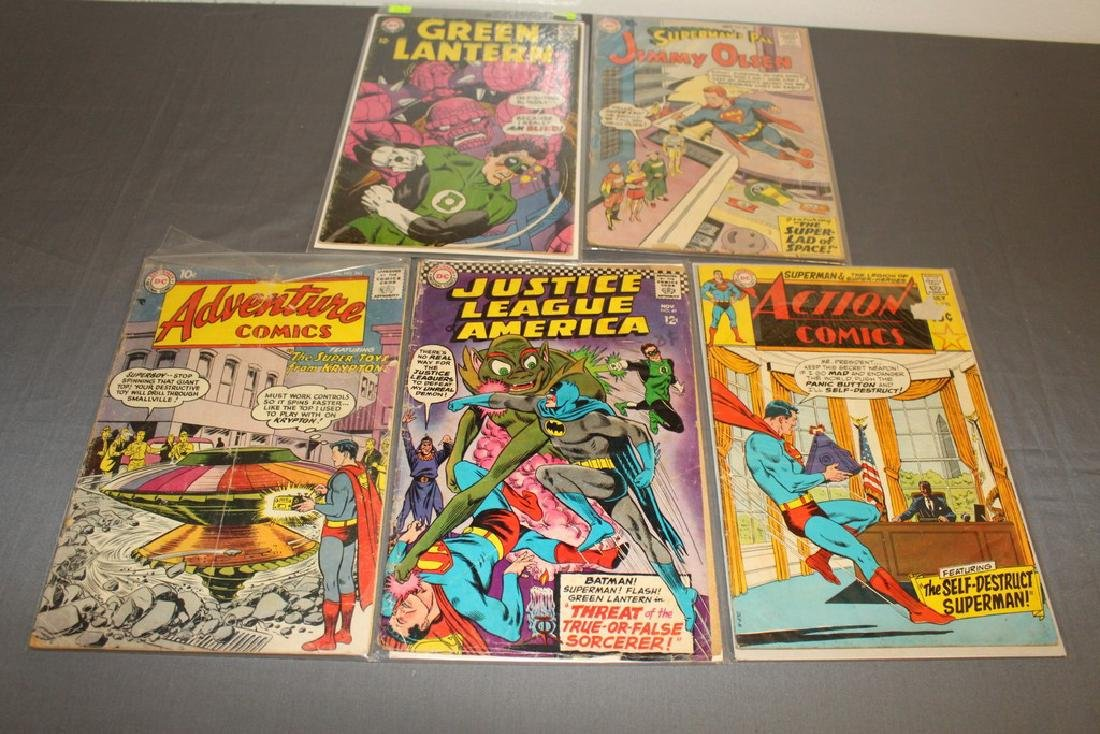 lot of 5 various DC Silverage Books