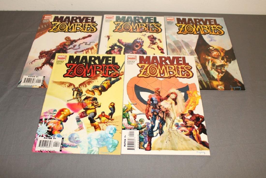 Marvel Zombies complete set #1-5