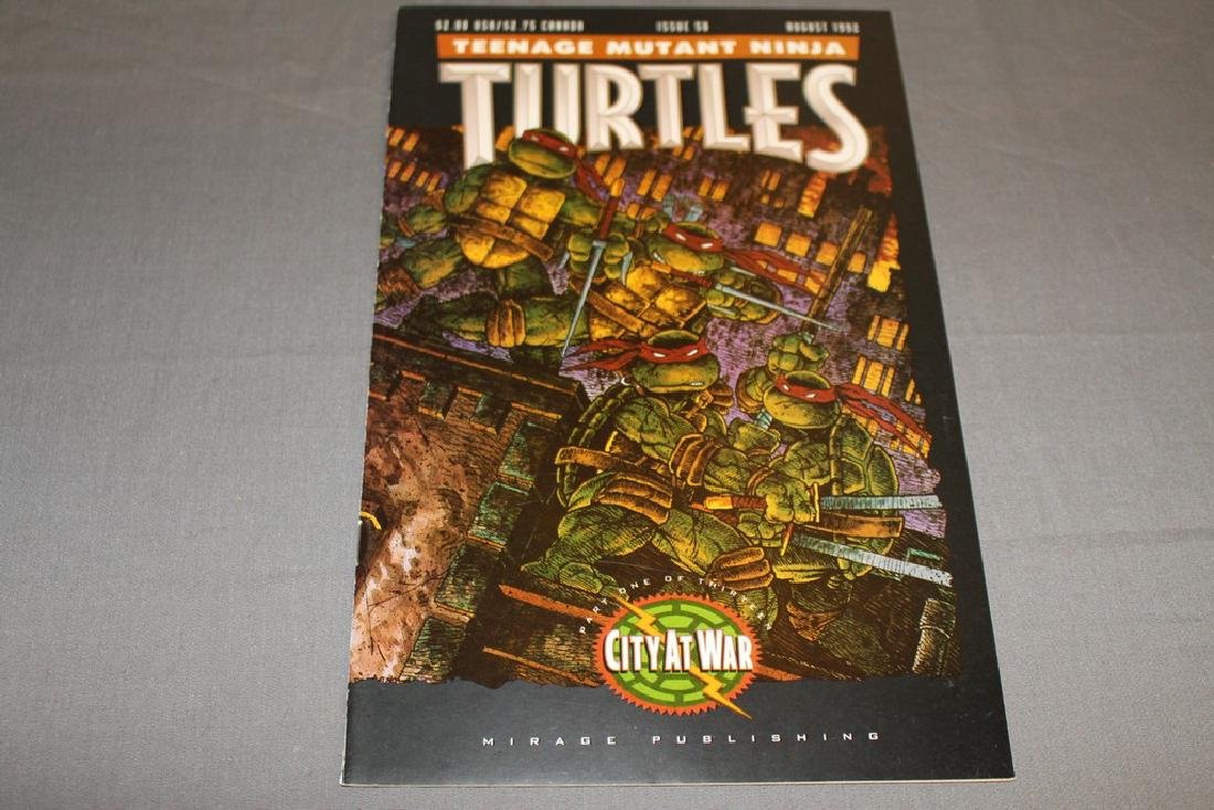 TMNT #50 signed by Eastman & Laird w/sketches