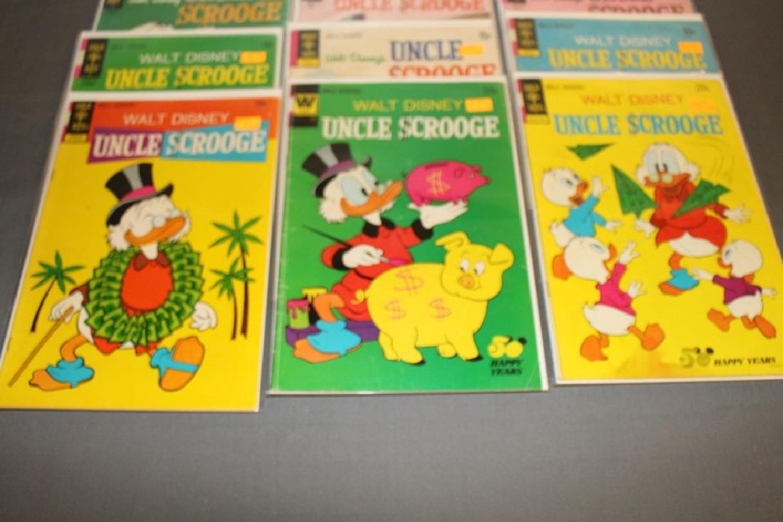17 Uncle Scrooge Disney comic lot - 5