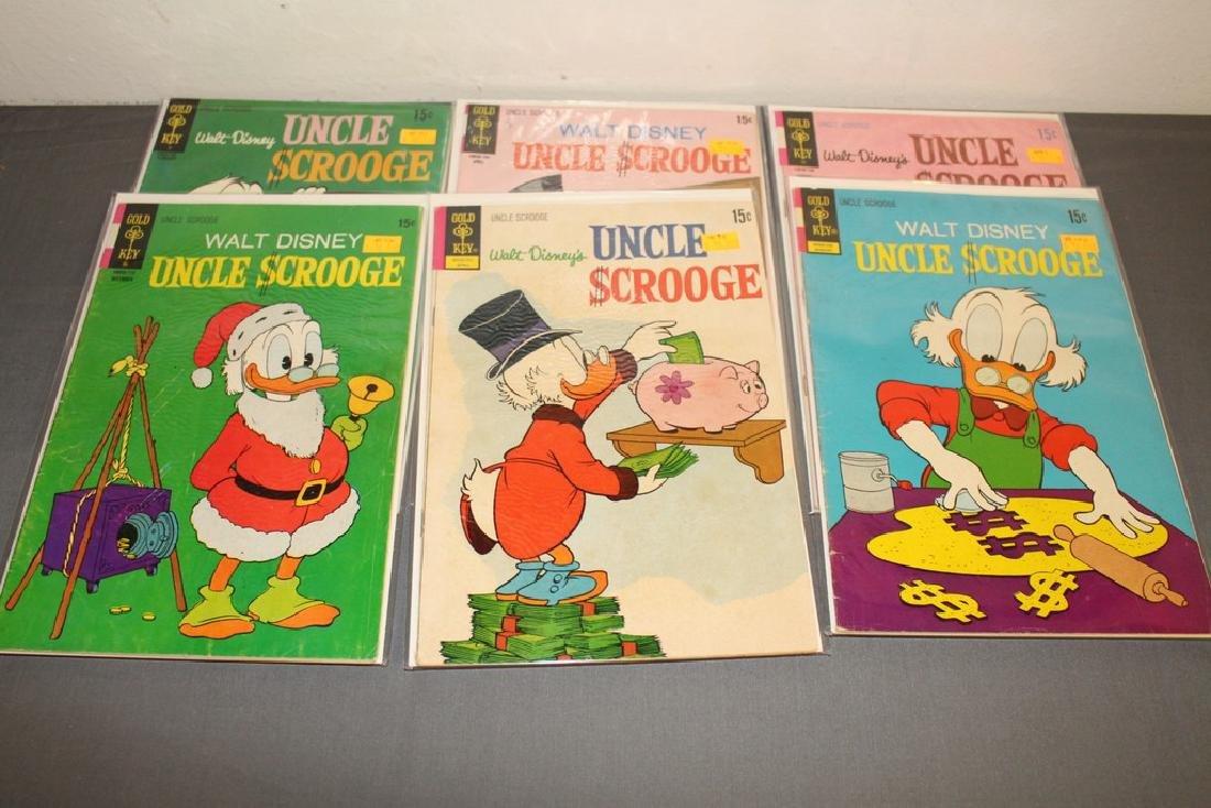 17 Uncle Scrooge Disney comic lot - 6