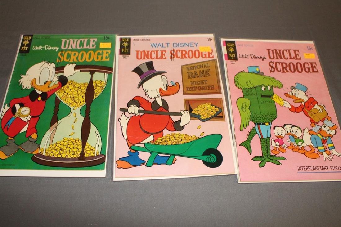 17 Uncle Scrooge Disney comic lot - 7