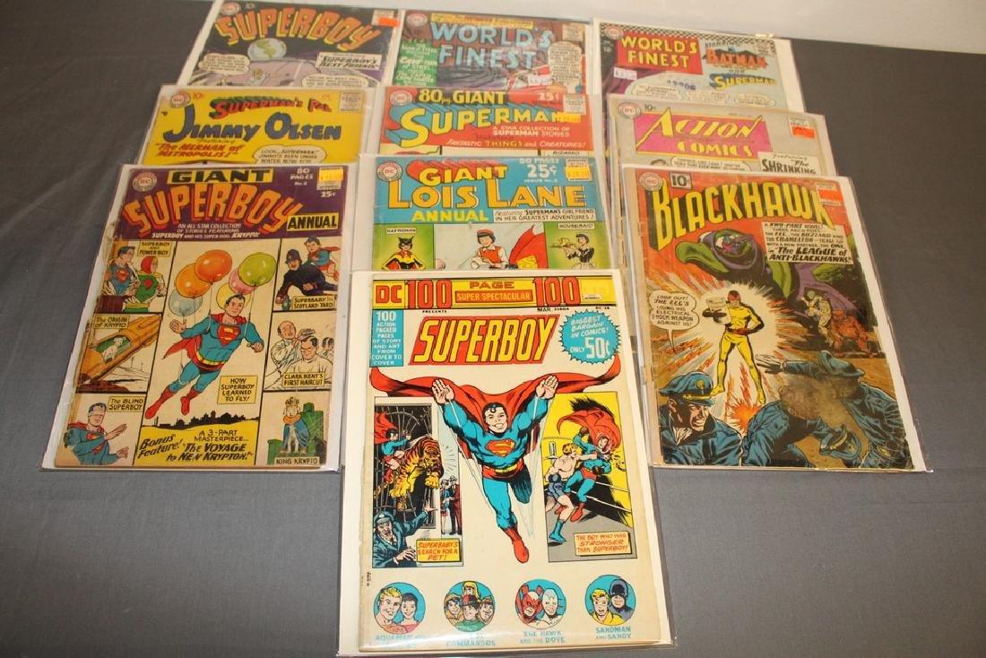 DC lot Golden & Silver Superman, Batman, etc