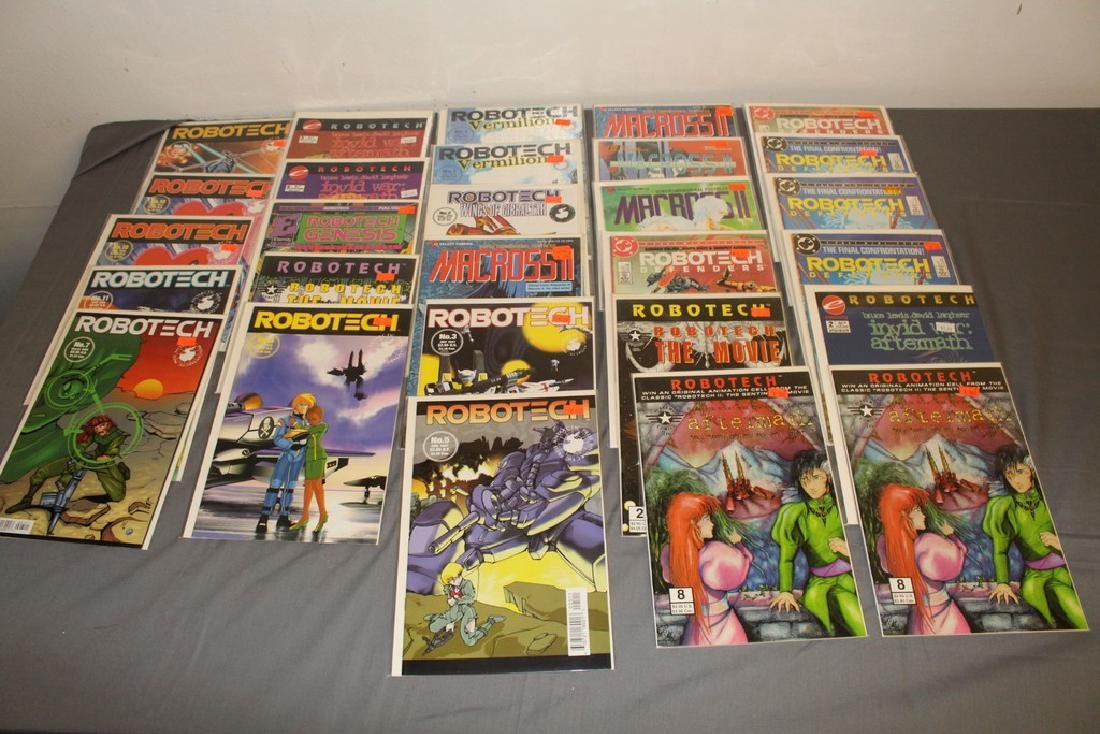 28 comic lot, Robotech Macross II #1,  etc