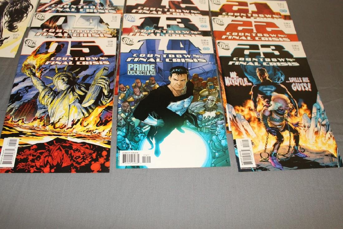 Count Down to Final Crises #1-51 DC complete mint set - 12