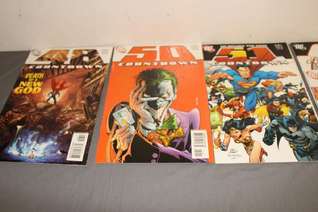 Count Down to Final Crises #1-51 DC complete mint set - 14