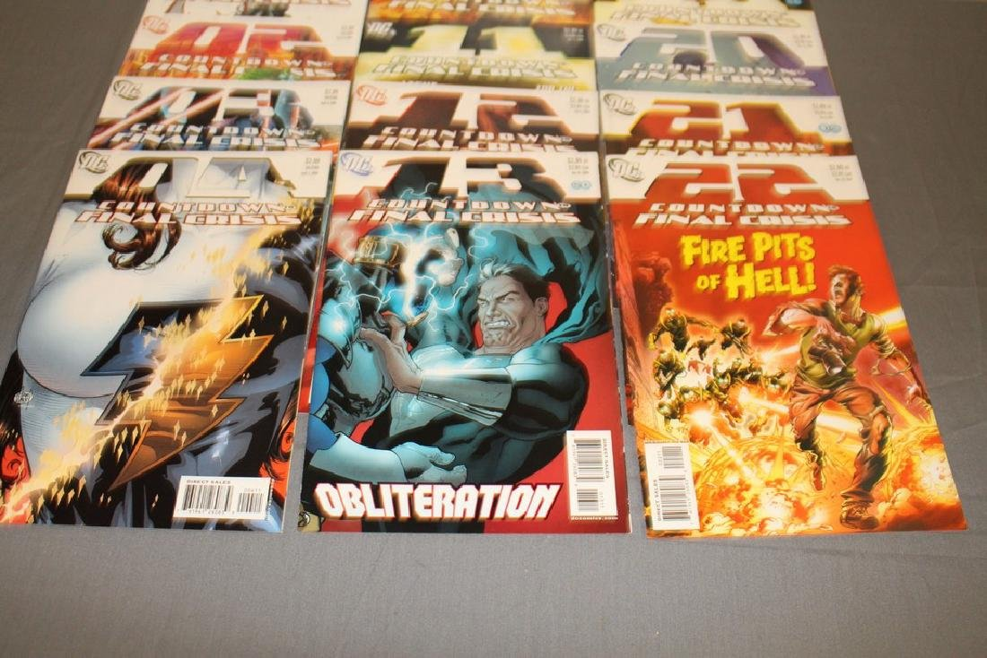Count Down to Final Crises #1-51 DC complete mint set - 16
