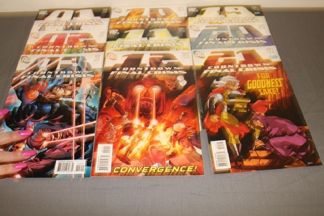 Count Down to Final Crises #1-51 DC complete mint set - 17