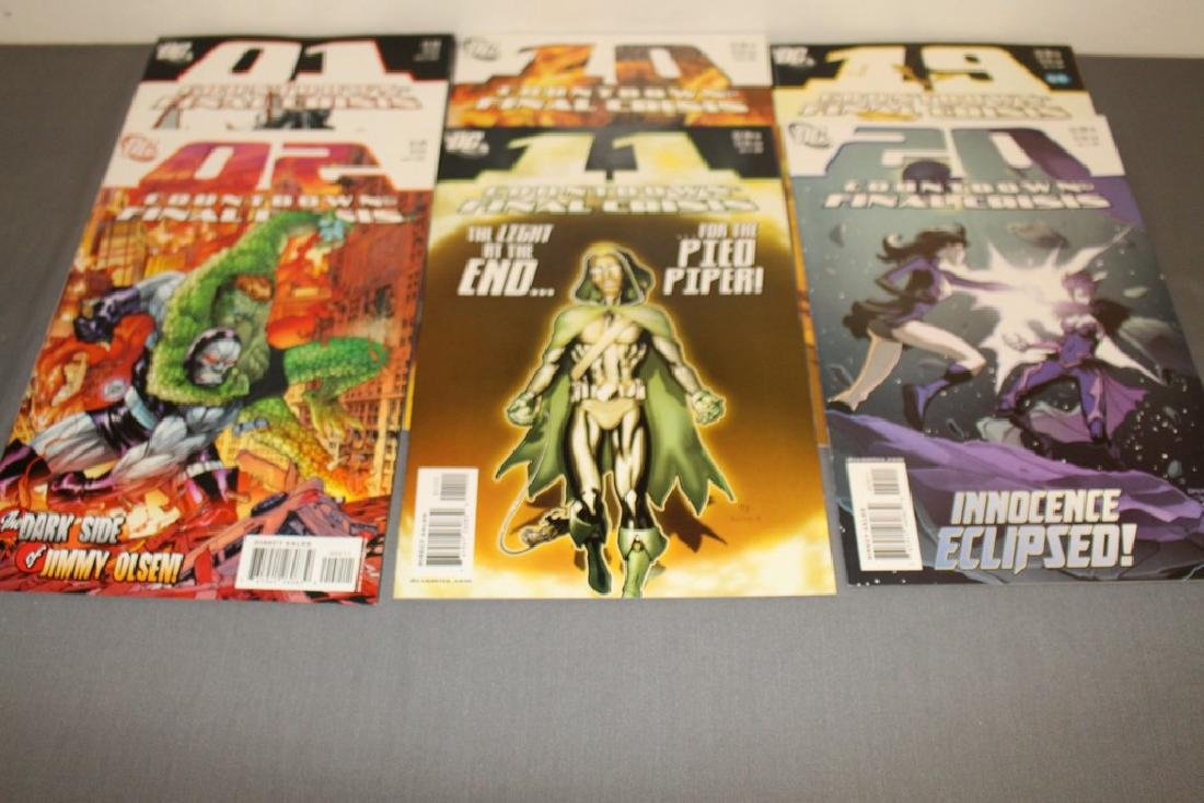 Count Down to Final Crises #1-51 DC complete mint set - 18