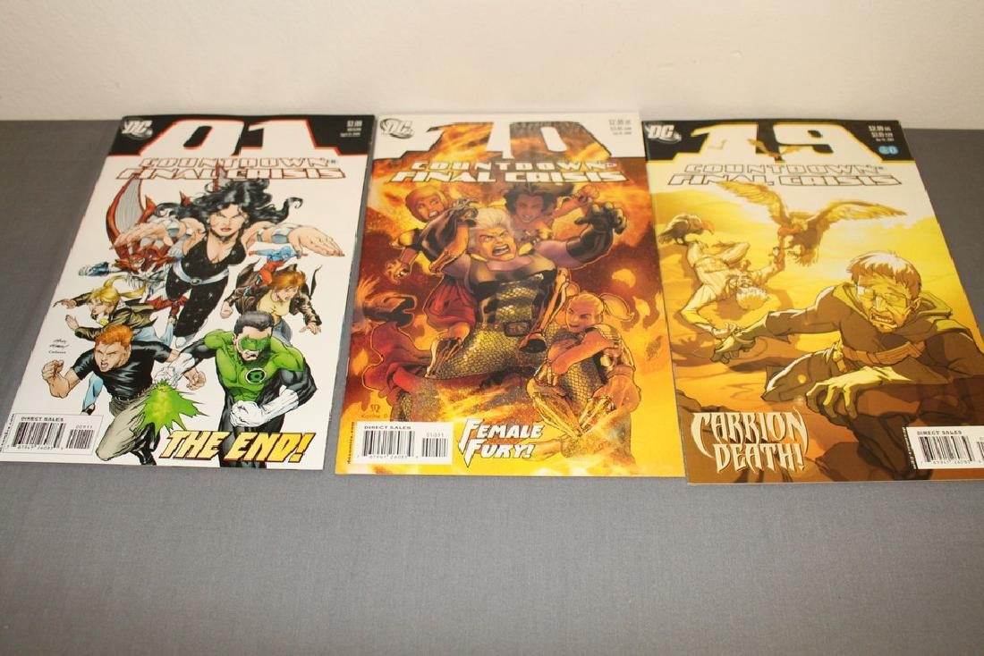 Count Down to Final Crises #1-51 DC complete mint set - 19