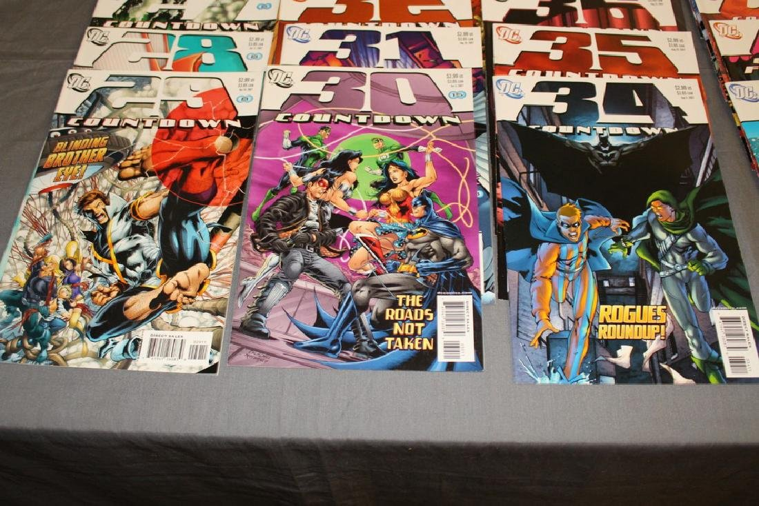 Count Down to Final Crises #1-51 DC complete mint set - 3