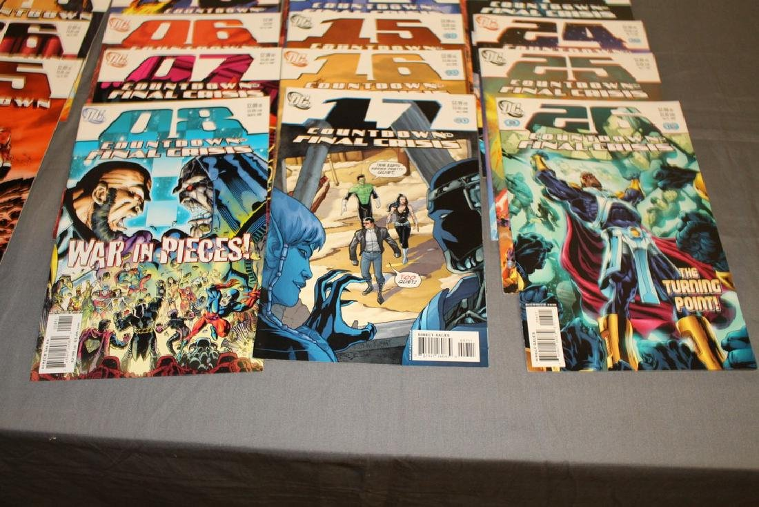 Count Down to Final Crises #1-51 DC complete mint set - 4