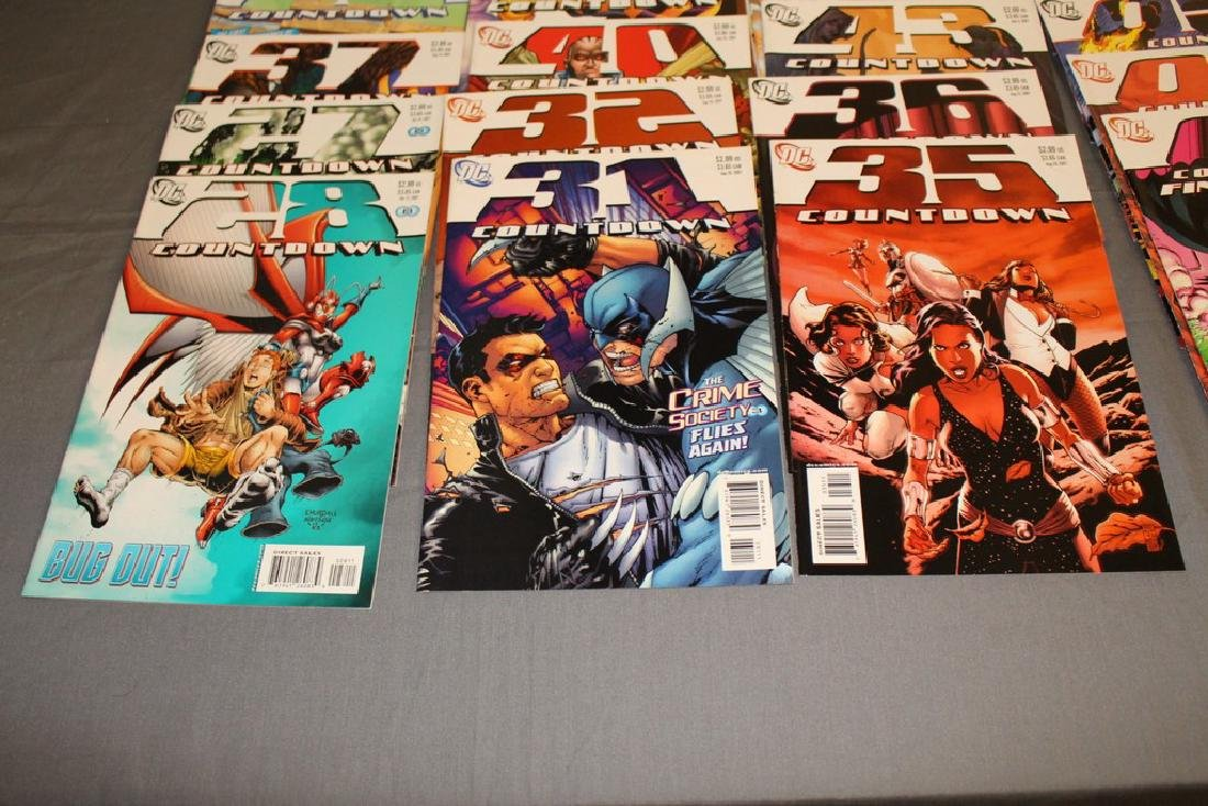 Count Down to Final Crises #1-51 DC complete mint set - 5