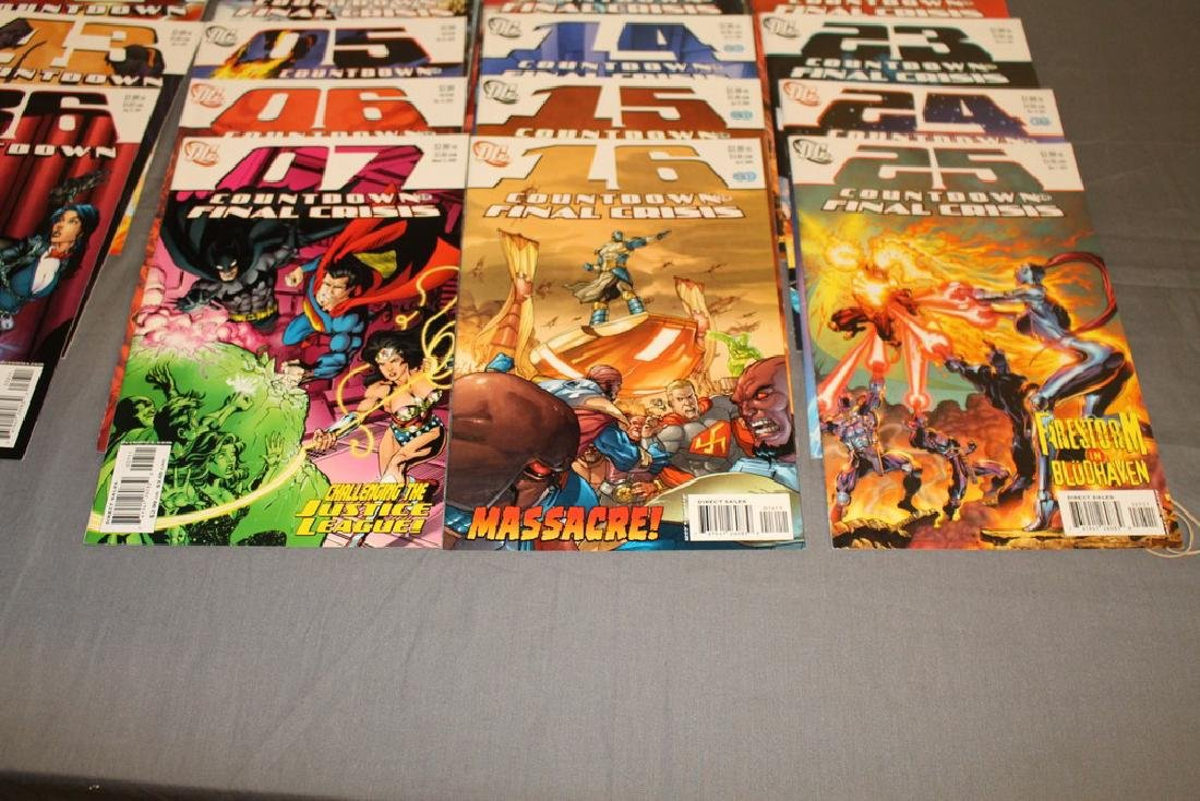 Count Down to Final Crises #1-51 DC complete mint set - 6