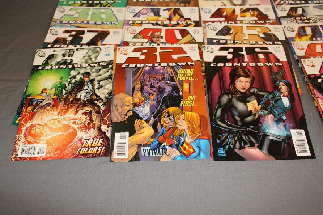Count Down to Final Crises #1-51 DC complete mint set - 7