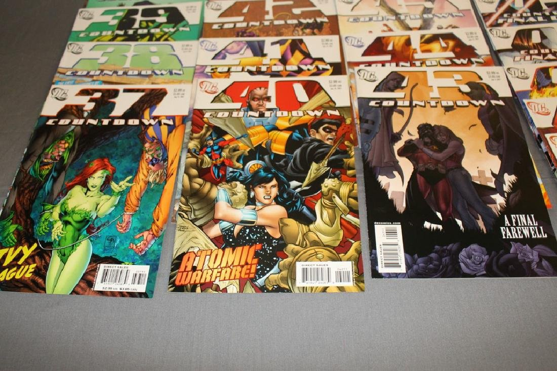 Count Down to Final Crises #1-51 DC complete mint set - 8