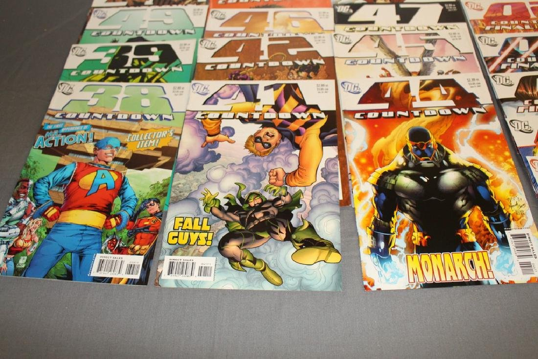 Count Down to Final Crises #1-51 DC complete mint set - 9