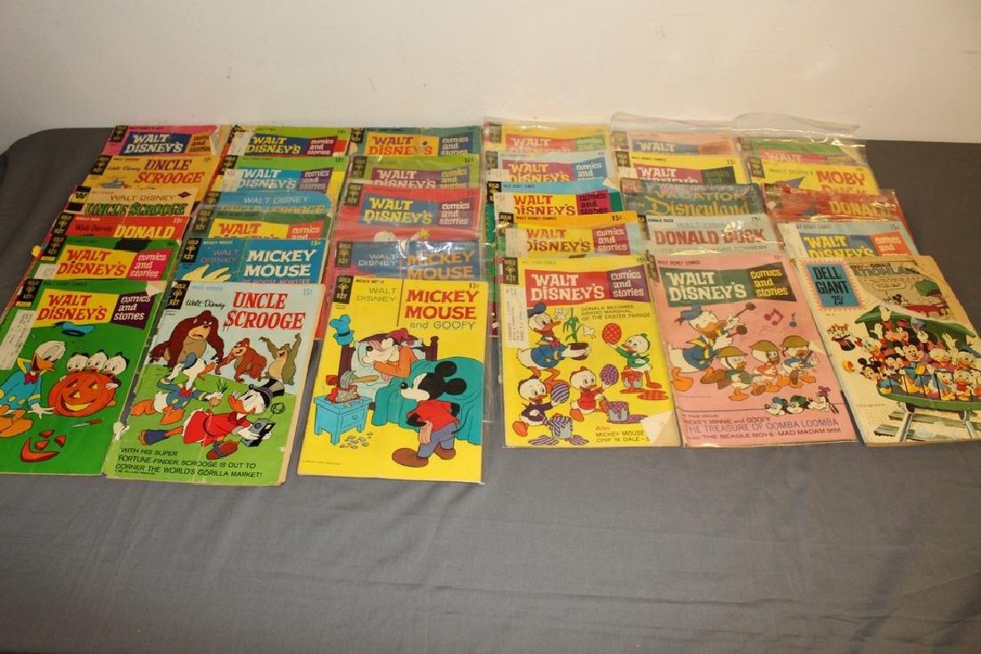 lot of 32 Disney Comics