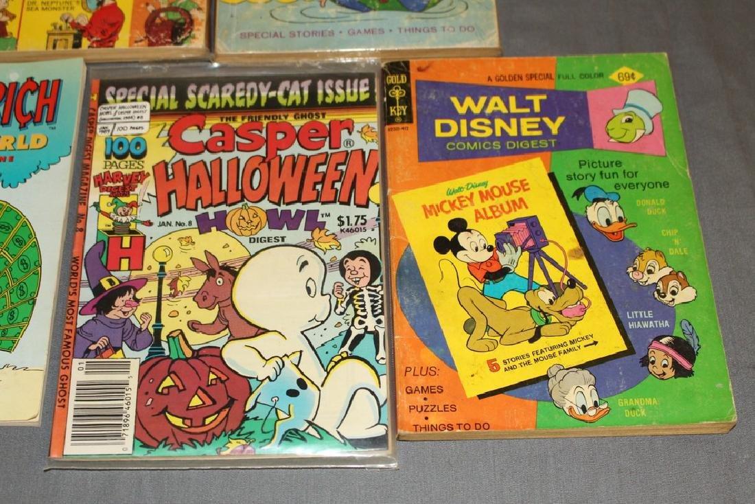 lot of 7 comic Digests, Disney, Richie Rich, Casper & - 4