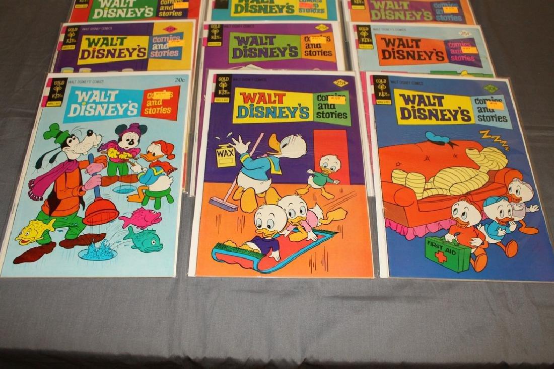 18 comics, Walt Disney & Stories 1960/70's - 2