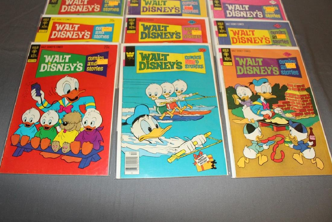 18 comics, Walt Disney & Stories 1960/70's - 4