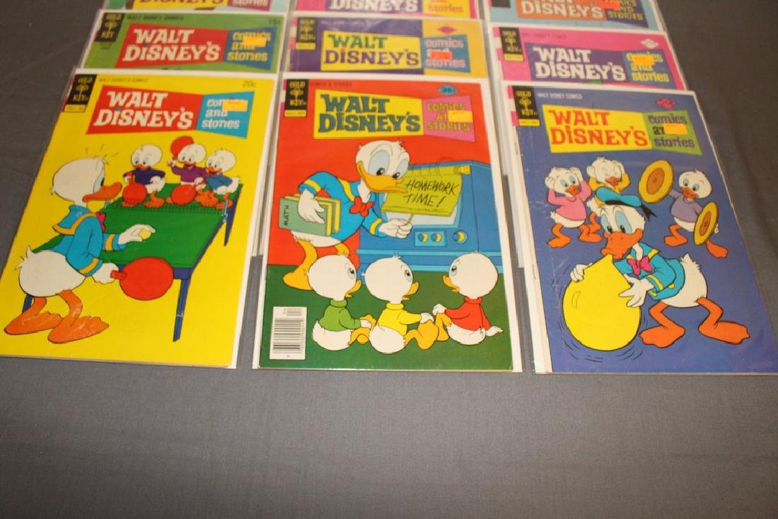 18 comics, Walt Disney & Stories 1960/70's - 5