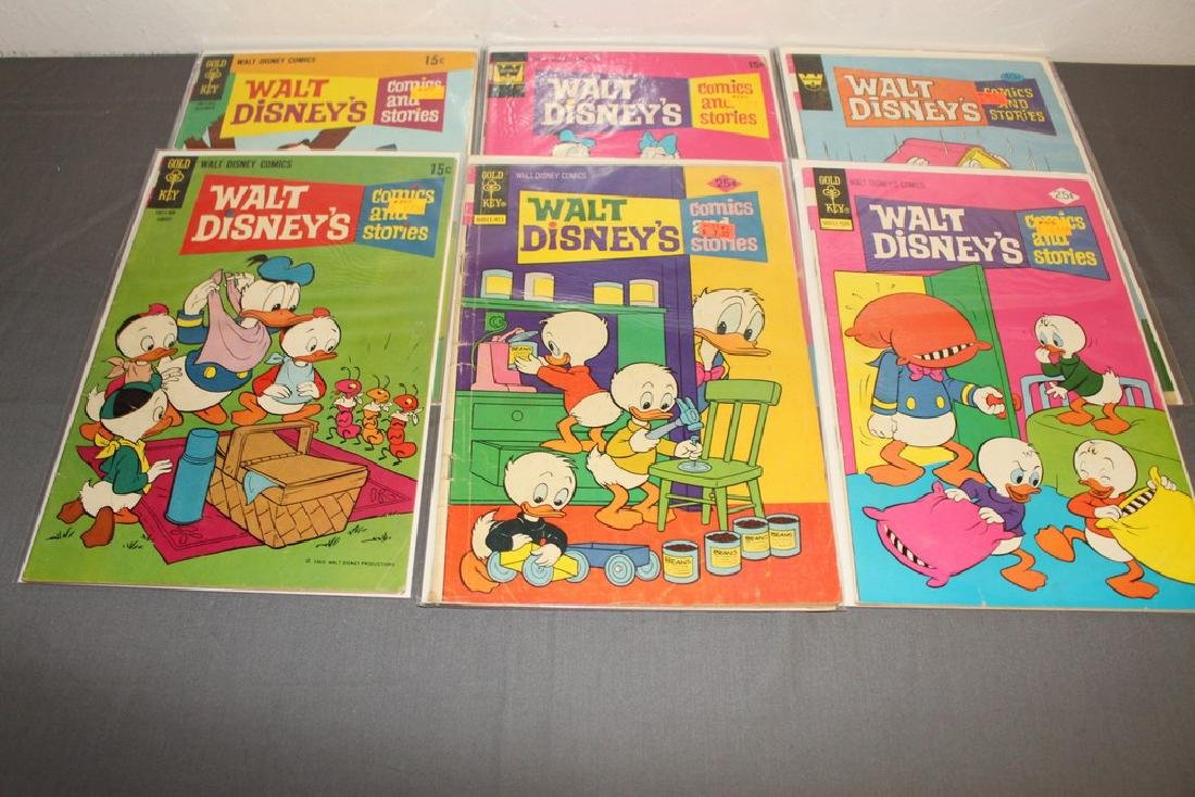 18 comics, Walt Disney & Stories 1960/70's - 6