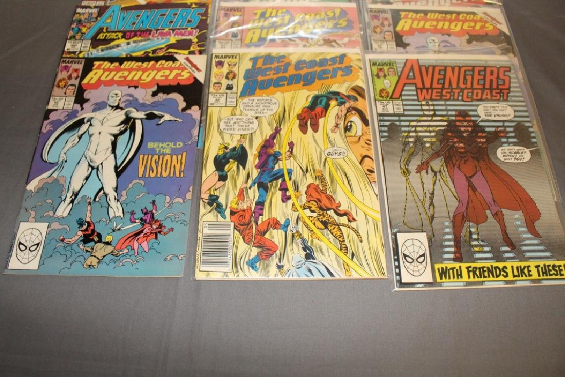 22 comics, Variety of Avengers & West Coast - 6