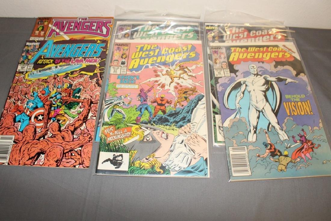 22 comics, Variety of Avengers & West Coast - 7