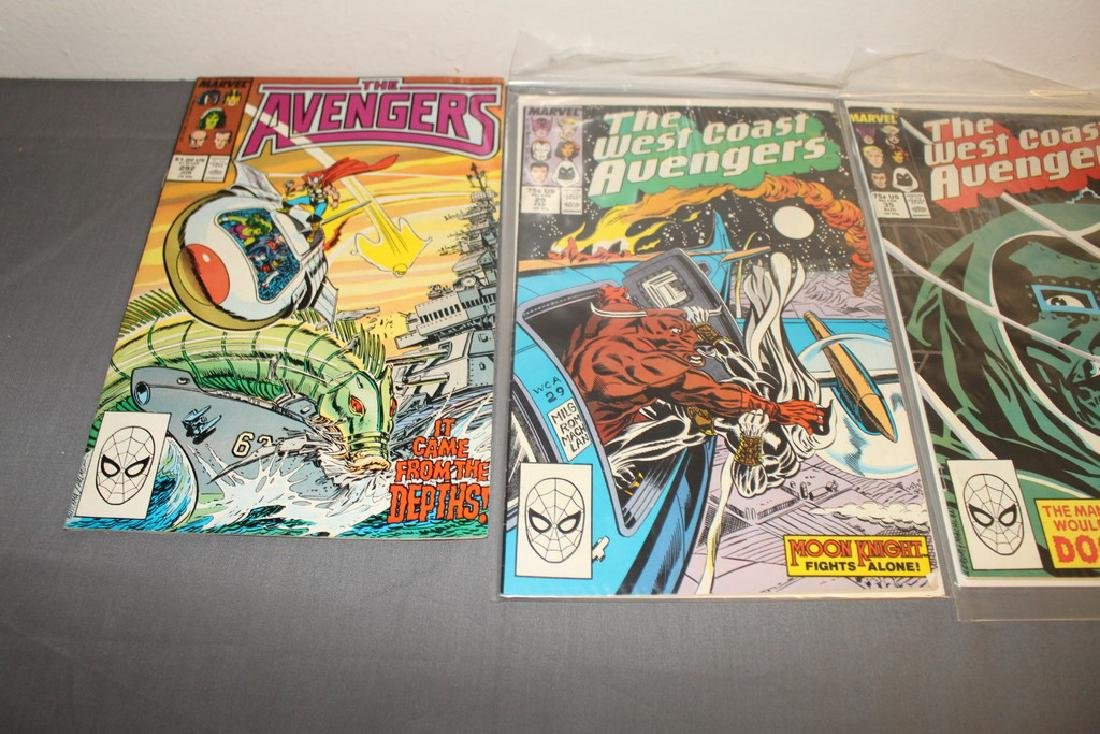 22 comics, Variety of Avengers & West Coast - 8