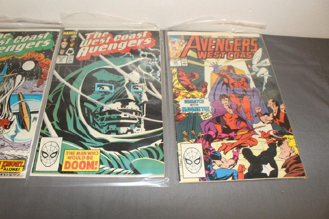22 comics, Variety of Avengers & West Coast - 9