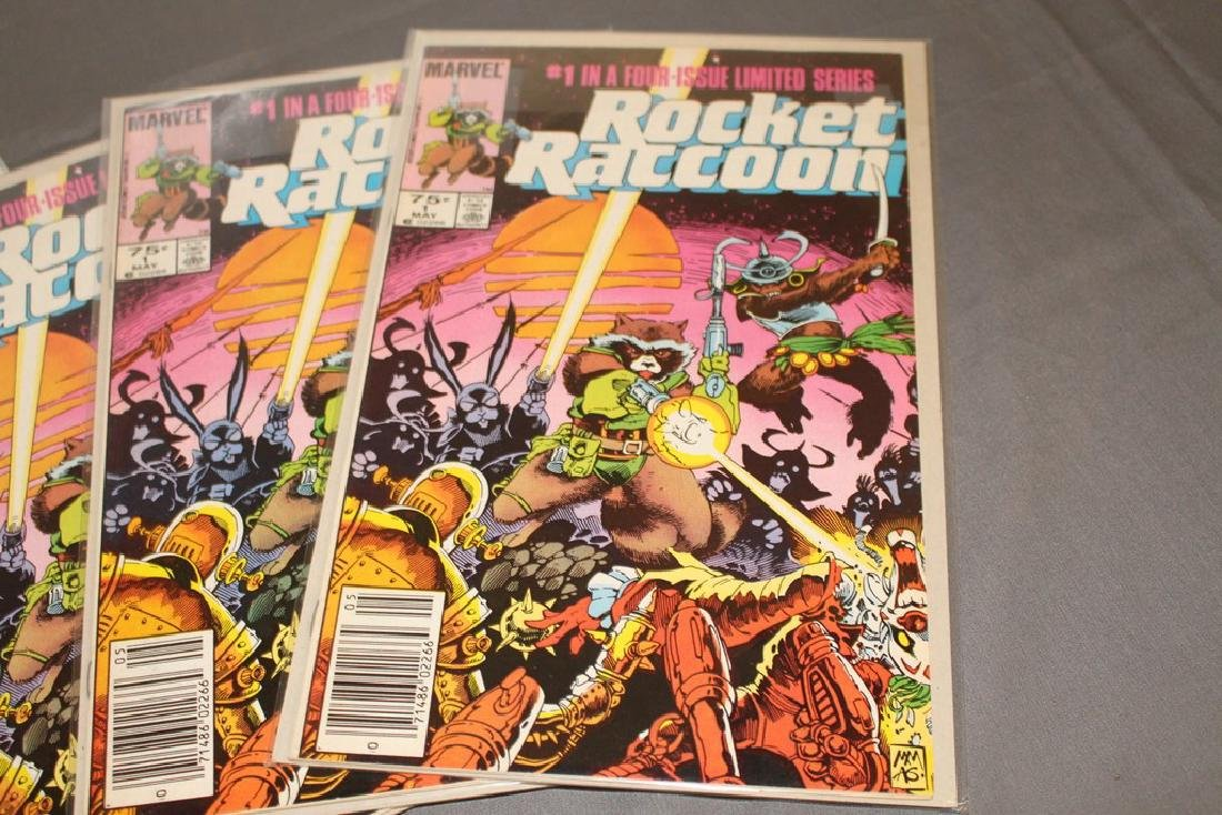 Rocket Raccoon #1, 5 Guardians of Galaxy - 2