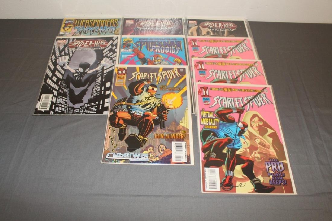 Scarlett Spider #1, Spiderman variety 9 comics