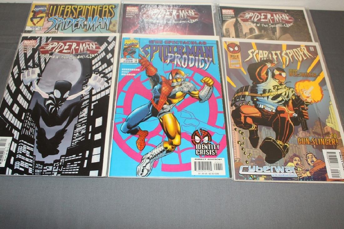 Scarlett Spider #1, Spiderman variety 9 comics - 3