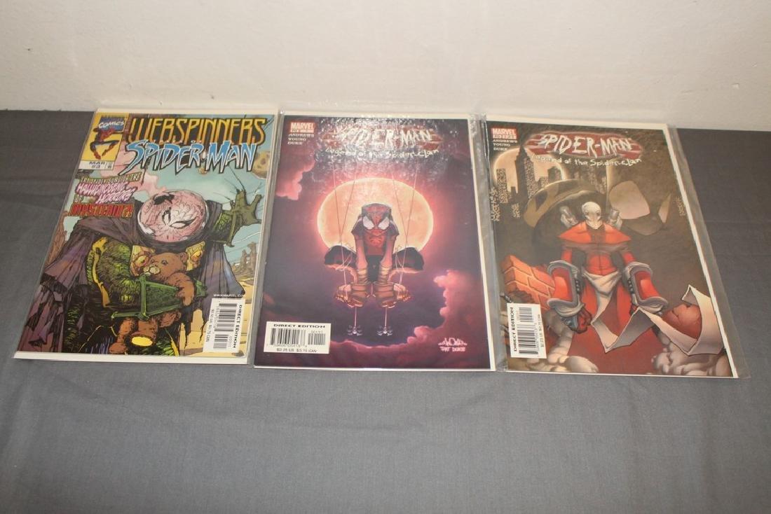 Scarlett Spider #1, Spiderman variety 9 comics - 4