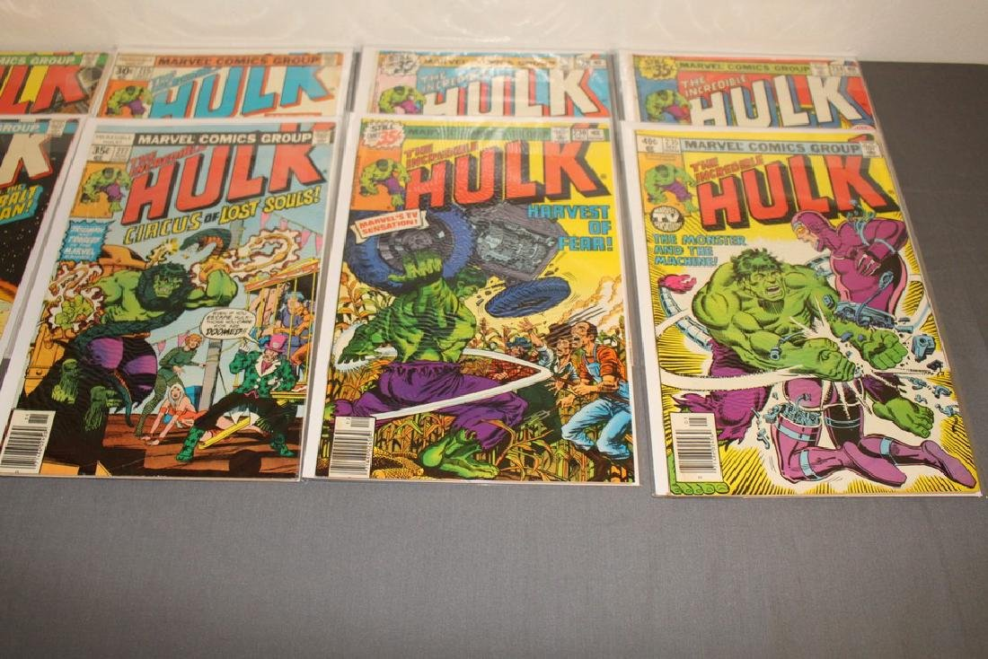 37 Incredible Hulk comics - 10